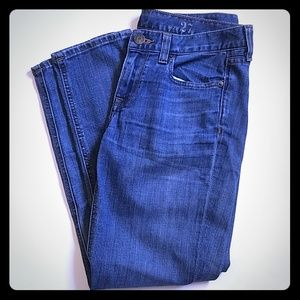 J. Crew Cropped Matchstick size 27